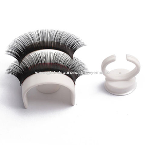 China New Eyelash Pallet Holder Makeup Tool Adhesive Fake