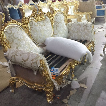 Italian Sofa Furniture, Hand Carved Wooden Furniture French ...