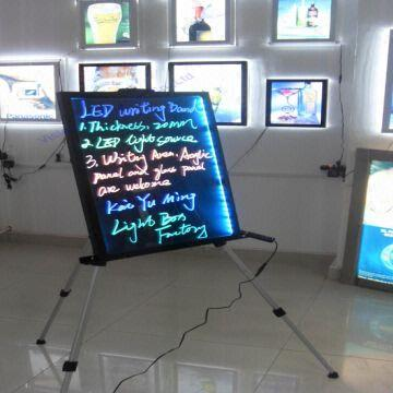 china electronic whiteboard for advertising led fluorescent writing board3547 cm - Electronic Whiteboard