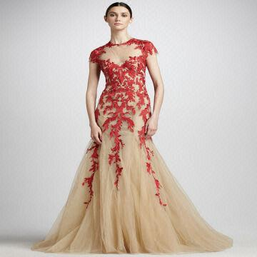 Red Evening Dress the Limited