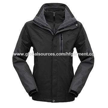 43b51f08989 China Men s ski jacket from Fuzhou Manufacturer  Fuzhou H f Garment ...