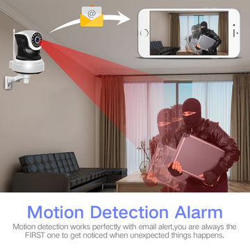 SNO video support camera work with alarm host monitor in app camhi