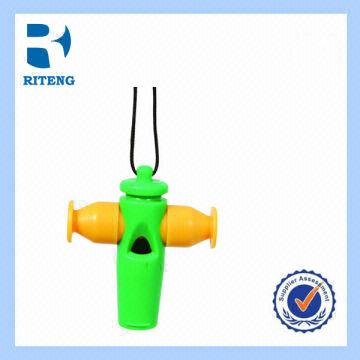 2014 Word Cup Colorful Plastic Samba Whistle with Custom Logo