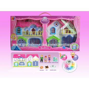 China Villa set toy
