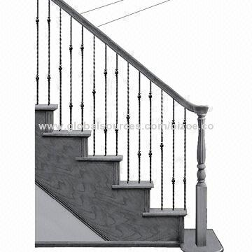 wrought iron spindle with interesting wrought iron.htm wrought iron balusters handrail fittings global sources  wrought iron balusters handrail