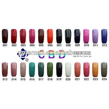 Beauty Nail CBD High Quality UV Nail Gel Polish 1)Professional