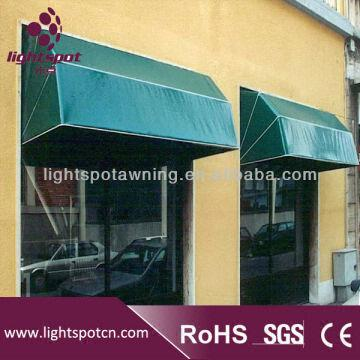 China Aluminum Retractable Awnings And Canopies Outdoor Small Dome Awnings  And Canopies Folding Arm Out