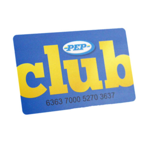 China Plastic Rfid Club Membership Card From Shenzhen Manufacturer