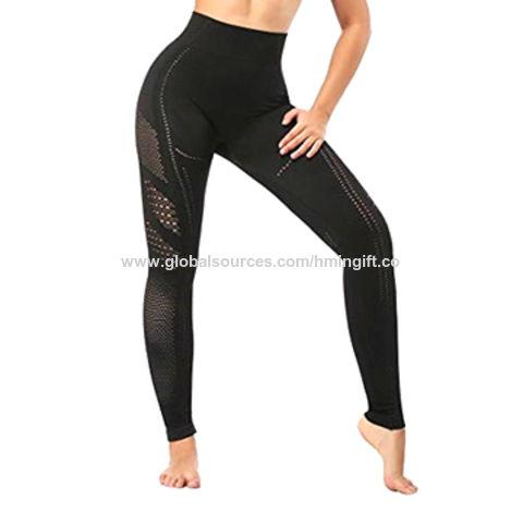 9a7d87822b70e China Women High Waist Seamless Wholesale Hollow Gym Fitness Wear Yoga  Leggings Yoga Pants ...