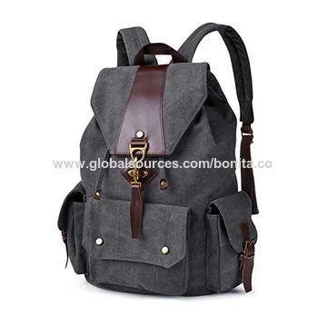 4b24b7d753ea ... China Vintage Canvas Backpack Casual Shoulder Bag Large Capacity  Rucksack for Men and Women ...