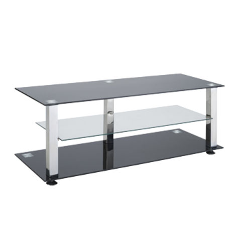 China Black Rectangle Tempered Glass Tv Stand On Global Sources