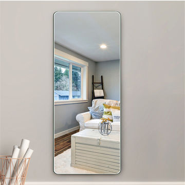 China Full Length Dressing Long Mirror, How To Hang A Unframed Mirror