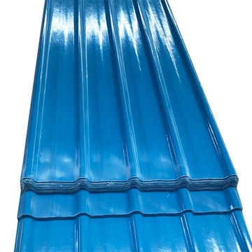 China Plastic corrugated roofing sheets from Foshan Wholesaler