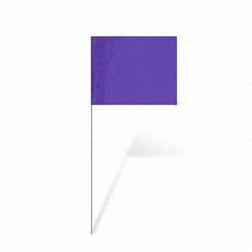 Purple Marking Flag