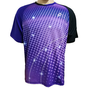 aef5d1905 Sublimation printing badminton T-shirts | Global Sources