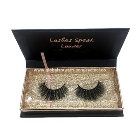 0293d52a335 China 3D Mink Eyelashes Packaging Boxes Wholesale Manufacturer Customized Eyelash  Packaging Box ...