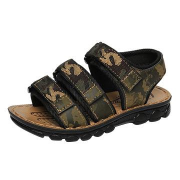 ae90fb9ff223 China Custom design logo Wholesale Men Sports Sandals Breathable ...