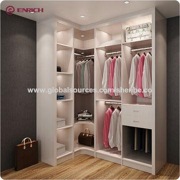 Bedroom wall wardrobe design walk in closet furniture drawer ...