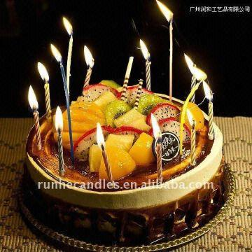 China Birthday Cake Candle Magic Relight