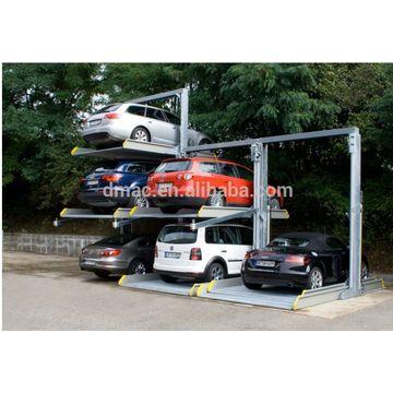 Outdoor Car Lift >> 3 Level Mechanical Car Lift Parking System Outdoor Car Lift Parking