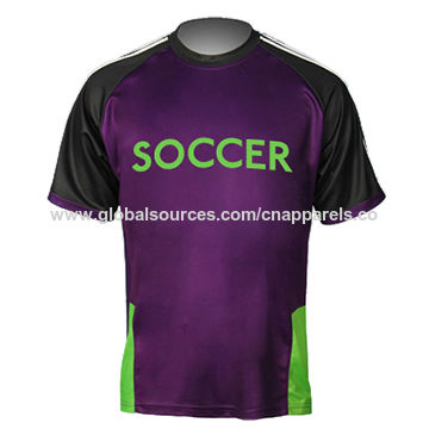 e6408bc80 China Men' sublimation printing soccer jersey, custom moisture -  wicking fabric football ...