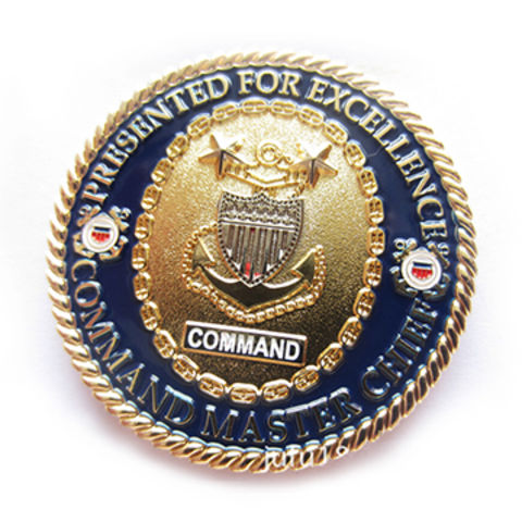 Challenge Coin Engraved