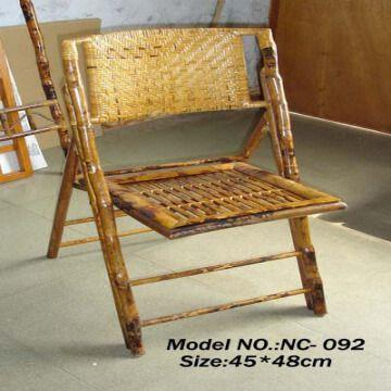 rattan bamboo folding chair global sources