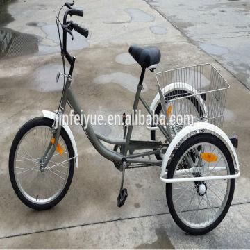 24 Adult Tricycle Man Power Tricycle 3 Wheel Cargo Bike