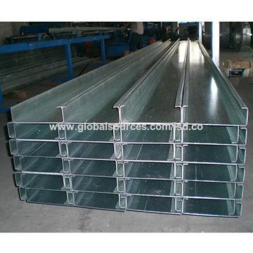 Galvanized Steel Sheet, C-profile/Z-channel/C-purlin/Z