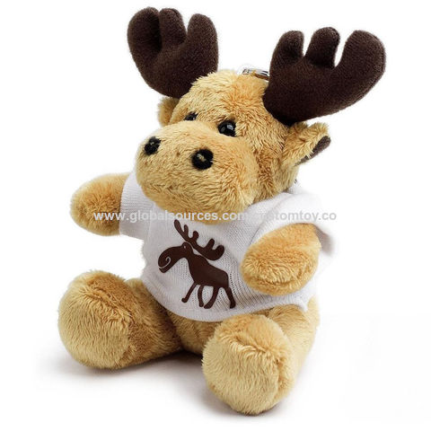 Plush Keychain Moose