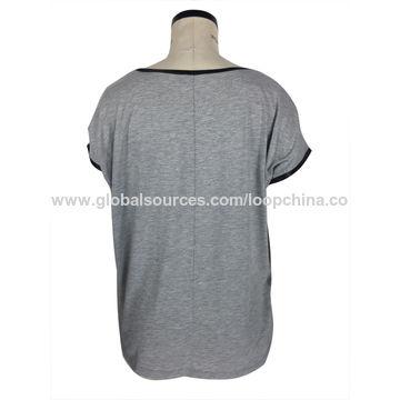 China Women's round collar T-shirts