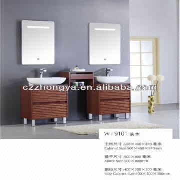 China Modern Wooden Cabinet Bathroom Vanity 9101. Modern Wooden Cabinet Bathroom Vanity 9101   Global Sources