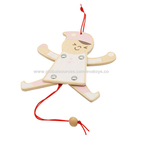 China wooden marionette puppet for kids from Wenzhou