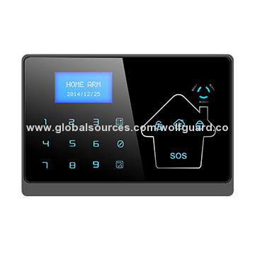 China 2015 New Wolf Guard GSM + PSTN Alarms Security System with CID
