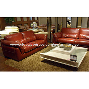 China Luxury Leather Sofa Set From