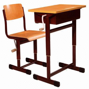 China Handle Adjustable Student Desk Chair