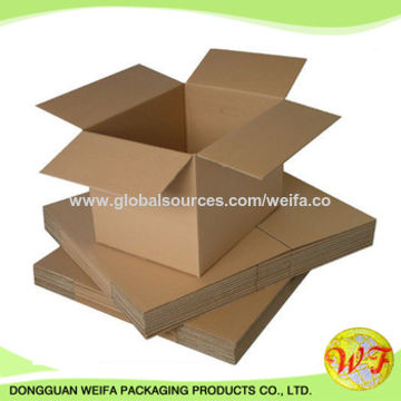 "China Custom small size 10""Lx6""Wx5""H corrugated boxes made in China"
