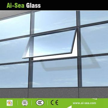 low-e glass,Hot-sale Single Or Double Silver Tempered Low-e