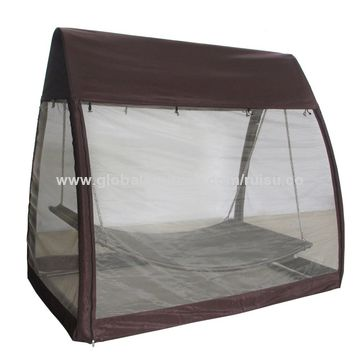 Outdoor Canopy Tents Arched Hanging Swing Hammock With Mosquito Net
