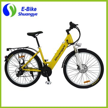 China 26'' alloy frame city electric motor bike