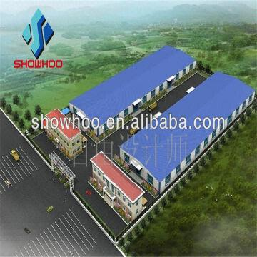 Construction Factory Low Cost Industrial Shed Designs