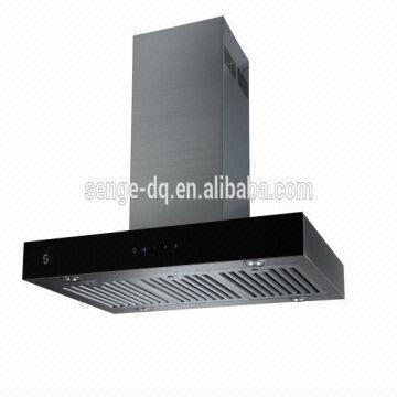Kitchen Exhaust Fan Covers Wall Mount Stainless Steel Baffle