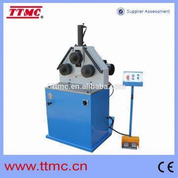 HRBM40HV) Hydraulic Round Bending Machine, Section Bending