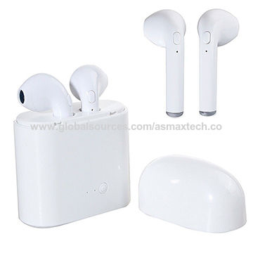 China In-ear Earphone for Apple iPhone X 8 7 US Dual Wireless ... d2ab289438ccf