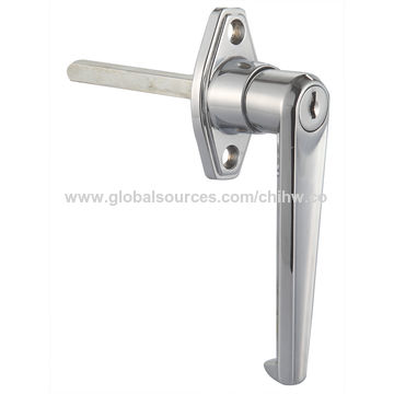 China Truck handle lock,truck panel paddle lock,lever handle lock