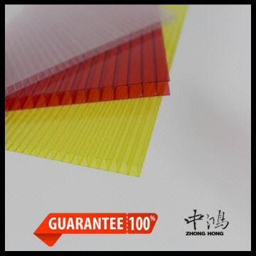 ge lexan polycarbonate sheet 1 Ten years warranty 2  never