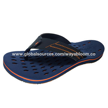 db03038dda20 China Customized Ribbon Soft EVA Sport Beach Sandals Flip Flops for ...