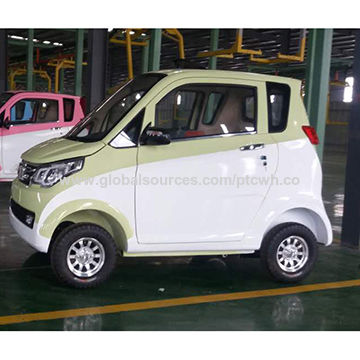 Low speed electric car