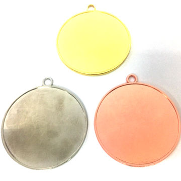 Open Design Blank Insert Medals, Factory Direct Sales, Made in China