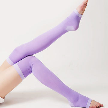 eec65b3bf ... China 2015 New High Quality Body Sculpting Sexy Compression Legs  Slimming Sleeping Women Stockings